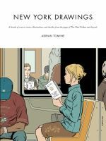 New York Drawings, 2012 The New York Times Best Sellers Hardcover Graphic Books winner, Adrian Tomine New York Drawing, Drawing S, New Yorker Covers, The New Yorker, Harper Lee, Book Design, New Books, Sketches, Reading