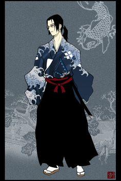 Samurai Champloo - Jin by *behindinfinity on deviantART