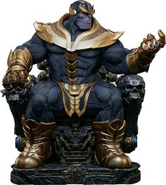 Marvel Thanos on Throne Maquette by Sideshow Collectibles | Sideshow Collectibles