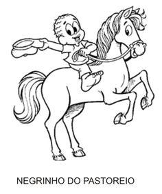 Personagens do Folclore - Negrinho do Pastoreio