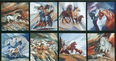 ABK-14243-268 by Jody Bergsma from North American Wildlife 2: Robert Kaufman Fabric Company