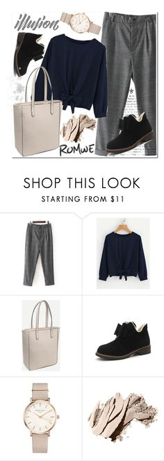 """""""ROMWE 4"""" by aidaaa1992 ❤ liked on Polyvore featuring ROSEFIELD and Bobbi Brown Cosmetics"""