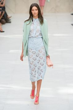 Burberry Prosum - London Fashion Week Primavera Verano 2014