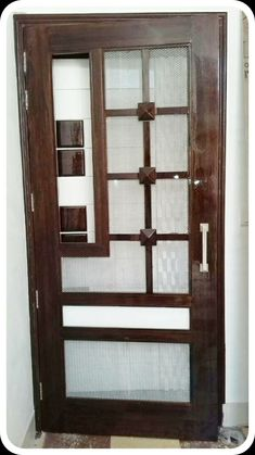 Bedroom Door Design, Bedroom Cupboard Designs, Door Design Interior, Bedroom Furniture Design, Wooden Front Door Design, Wooden Front Doors, Best Door Designs, Door Design Photos, Bed Back Design