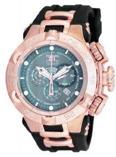Relógio Invicta Men's 12882 Subaqua Noma Grey Dial Rose Gold Chronograph Watch #Relogios #Invicta