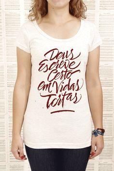 """Vidas Tortas"" (longtee) / #PreVenda"