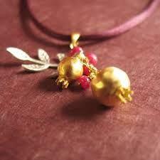 Image result for pomegranate charm