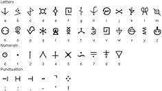 alfabeto elfico - Buscar con Google