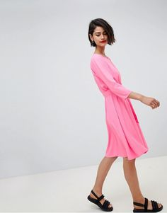 2nd Day | 2NDDAY 60's belted flippy dress