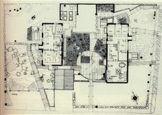 Ralph Erskine, Villa Erskine, Drottningholm, Sweden, 1963 – Atlas of Interiors Architecture Drawings, Architecture Plan, Alison And Peter Smithson, Weekend House, Graduation Project, Detailed Drawings, Classic House, Stockholm, The Past