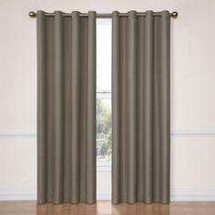 Eclipse Dane Grommet Blackout Energy-Efficient Curtain Panel - Walmart.com