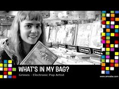 Grimes - What's In My Bag? - YouTube