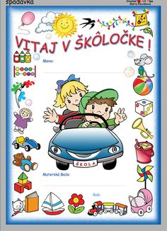 Vitaj v MŠ - Hľadať Googlom Borders And Frames, Bambi, Diy And Crafts, Preschool, September, Snoopy, Clip Art, Classroom, Comics