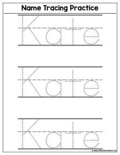 8 Best Name tracing worksheets images | Day Care, Preschool ...