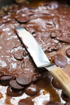 chocolate almond buttercrunch candy recipe