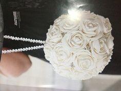 White Rose Pomanda for flower girl