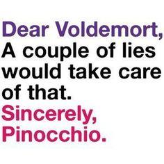 I dunno Pinocchio, hes lied plenty already.