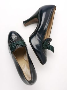 Pair of shoes, c. 1937, Belgium.