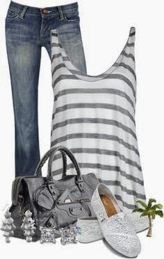 2014 cute summer casual outfits