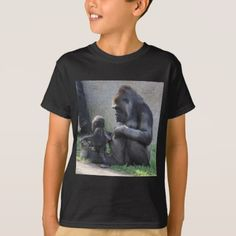 #Gorilla T-Shirt - #cool #kids #shirts #child #children #toddler #toddlers #kidsfashion