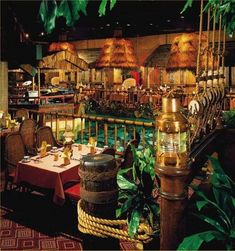 TONGA ROOM & HURRICANE BAR - Fairmont Hotel, San Francisco, California
