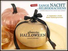 """Kreativ-Party """"Glamouros Halloween"""" - Die Lange Nacht des Selbermachens –"""