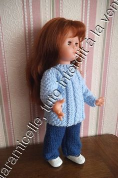 tutos gratuits poupée : pantalon et tunique irlandaise