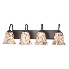 Westmore Lighting 4-Light Delano Bathroom Vanity Light | Lowe's for Pros