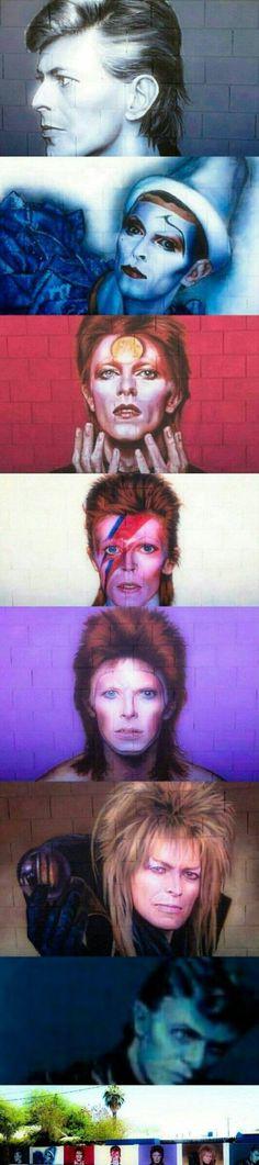 Faces of David