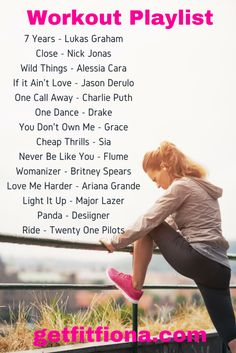 School and a New Workout Playlist - Get Fit Fiona