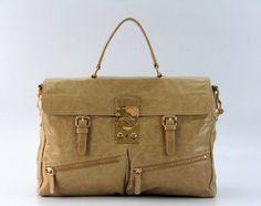 MiuMiu 86310 - Apricot - Oil leather