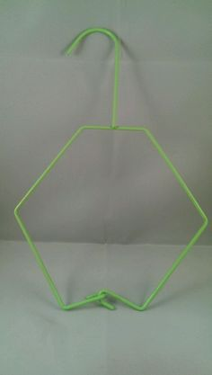 NEW Armaly Brands Katies Hair Accessory Hanger Green Wire Hanger Octagon Shape…