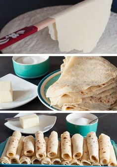 How to Make Lefse with 2 Recipes. Learn how to make lefse with two recipe options. Spread with butter and sugar, roll-up and enjoy! :) Continue this Norwegian tradition. Fall Recipes, Holiday Recipes, Recipies, Chard Recipes, Potato Recipes, Holiday Baking, Christmas Baking, Christmas Goodies, Amigurumi