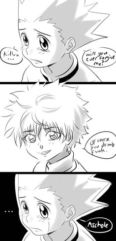 """minima-life: """"Friendship Fixed! Killua, Hisoka, Hunter X Hunter, Hunter Anime, Me Me Me Anime, Anime Love, Character Prompts, Cute Anime Character, Anime Ships"""