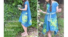 Free pattern: Summer Blossom Dress for girls