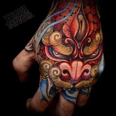 I want a sleeve that goes to my hand (Art by Yushi Tattoo)