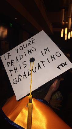 Before you put on your graduation cap, you might need to put on your thinking cap. Graduation 2016, Graduation Cap Designs, Graduation Cap Decoration, High School Graduation, Graduate School, Grad Hat, Cap Decorations, Grad Parties, Cap Ideas