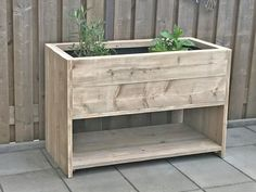 Diy Wooden Planters, Tall Planters, Garden Planters, Wooden Diy, Pot Storage, Wooden Storage Boxes, Growing Vegetables In Pots, Outdoor Rooms, Outdoor Decor