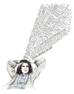 Susan Sontag on Art, by Maria Popova & Wendy Macnaughton