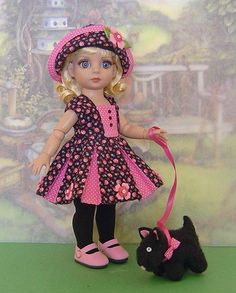 """SPRING STROLL"" OOAK made for 10"" Tonner Patsy by Karen's Kreations"