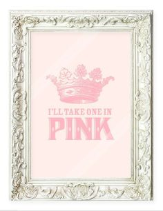 Gift idea for the Queen of Pink