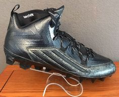new style 865a4 1df37 NEW Adidas Men s Crazyquick 2.0 Mid Mens Football Cleats Size 11 Black  S83963