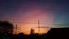 Sunset on Governor's Drive,  Huntsville,  AL