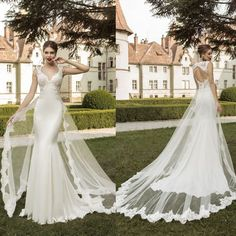 Sexy-Backless-lace-Mermaid-Wedding-dresses-2015-New-fashion-Detachable-trailing-Elegant-Long-Bridal-Gowns-vestido.jpg (950×950)