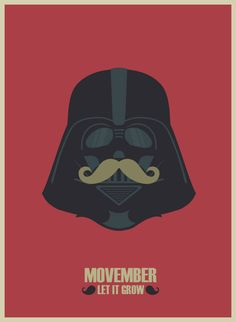 Darth Vader mustache graphic