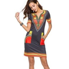 African Print Dresses, African Fashion Dresses, African Dress, Kaftan, Dashiki Dress, Saree Dress, Party Dresses For Women, Casual Dresses For Women, Clothes For Women