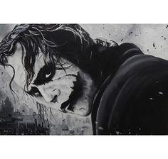 Dark Knight Poster Joker Ed Capeau. Hier bei www.closeup.de