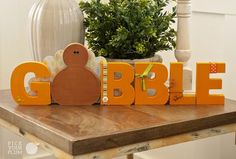 Back By Popular Demand! The Main Dish – Naked Wood Turkey Kits and Gobble Wood… - Wood Projects Thanksgiving Wood Crafts, Thanksgiving Centerpieces, Holiday Crafts, Thanksgiving Table, Wood Projects For Kids, Kids Wood, Wood Panneling, Pick Your Plum, Bazaar Ideas
