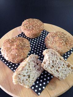 Pão de sementes sem glúten, sem lactose e sem gomas! receita no blog!