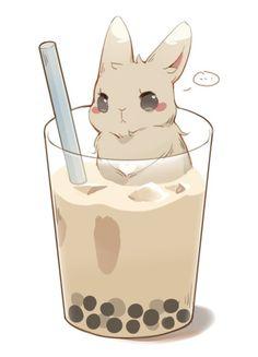 Twitter Cute Bunny Cartoon, Kawaii Bunny, Cute Kawaii Animals, Cute Animal Drawings Kawaii, Cute Little Drawings, Cute Cartoon Drawings, Bunny Drawing, Bunny Art, Rabbit Cartoon Drawing